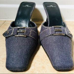 ANNE KLEIN SLIP ON DRESS SHOE with heel